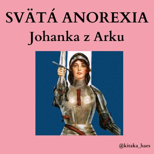 """""""Svätá Anorexia"""""""